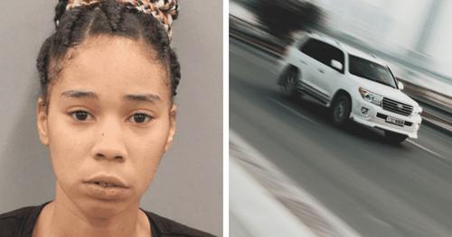 Người mẹ 26 tuổi lái chiếc SUV để đùa các con, gây ra tai nạn thương tâm. Ảnh: NBCnews.