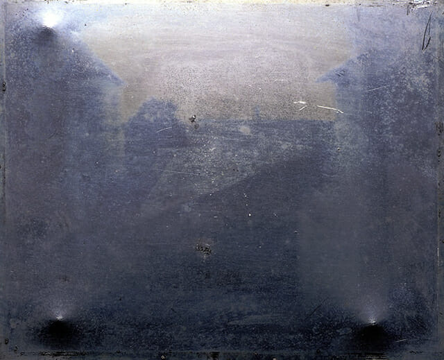 First photo ever taken — 1826