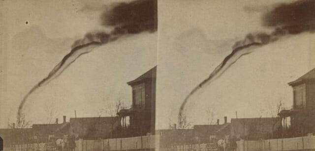 First tornado photograph